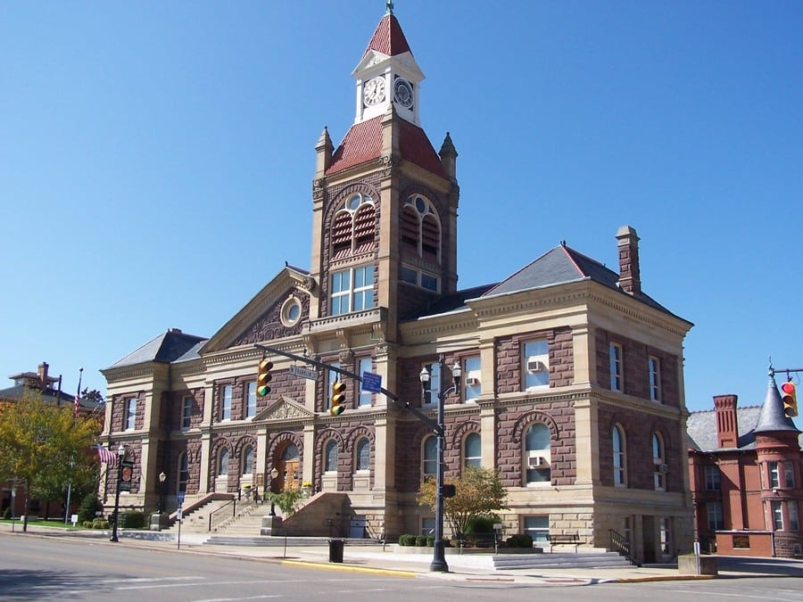Pickaway County Ohio Courthouse